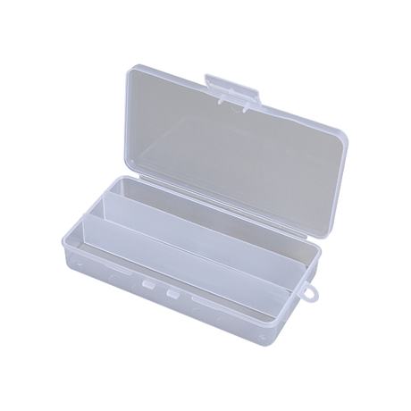 Transparent Compartment Plastic Fishing Gear Storage Box