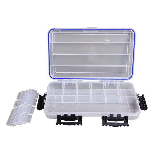 Plastic Container Fishing Tackle Box Container Accessories
