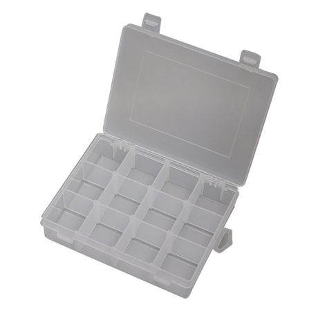 Transparent Plastic Mesh Fishing Gear Container Storage Box