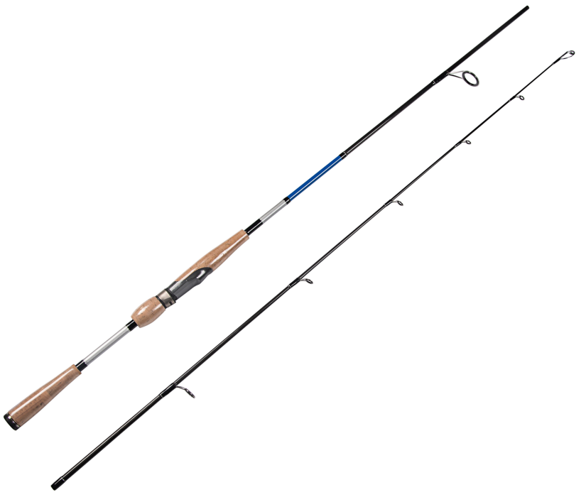 6'6''(1.98m) Spinning Fishing Rod 2 Sections Carbon Fishing Pole