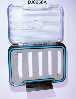 Waterproof Fly Box Silicone Transparent Flyfishing Box